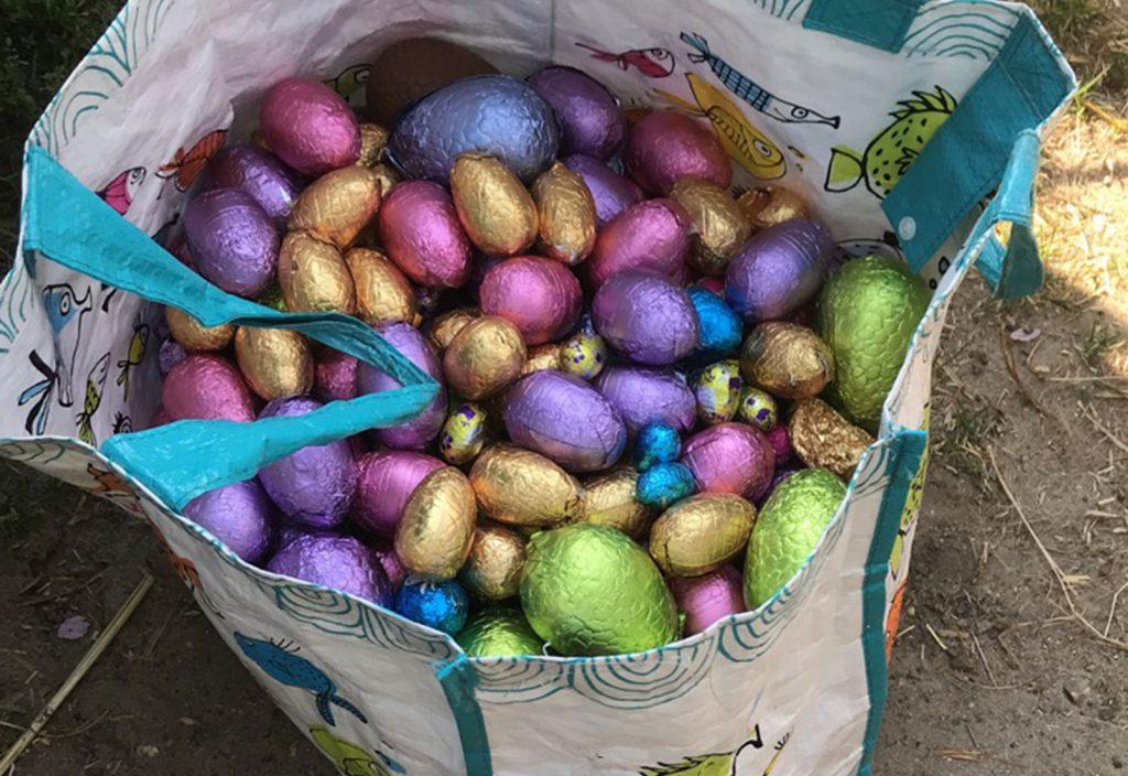 Journée chasse aux oeufs de Pâques, Poney Club de Lamorlaye