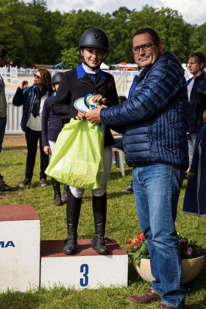 Podium Championnats Lamotte-Beuvron 2019, Poney Club de Lamorlaye