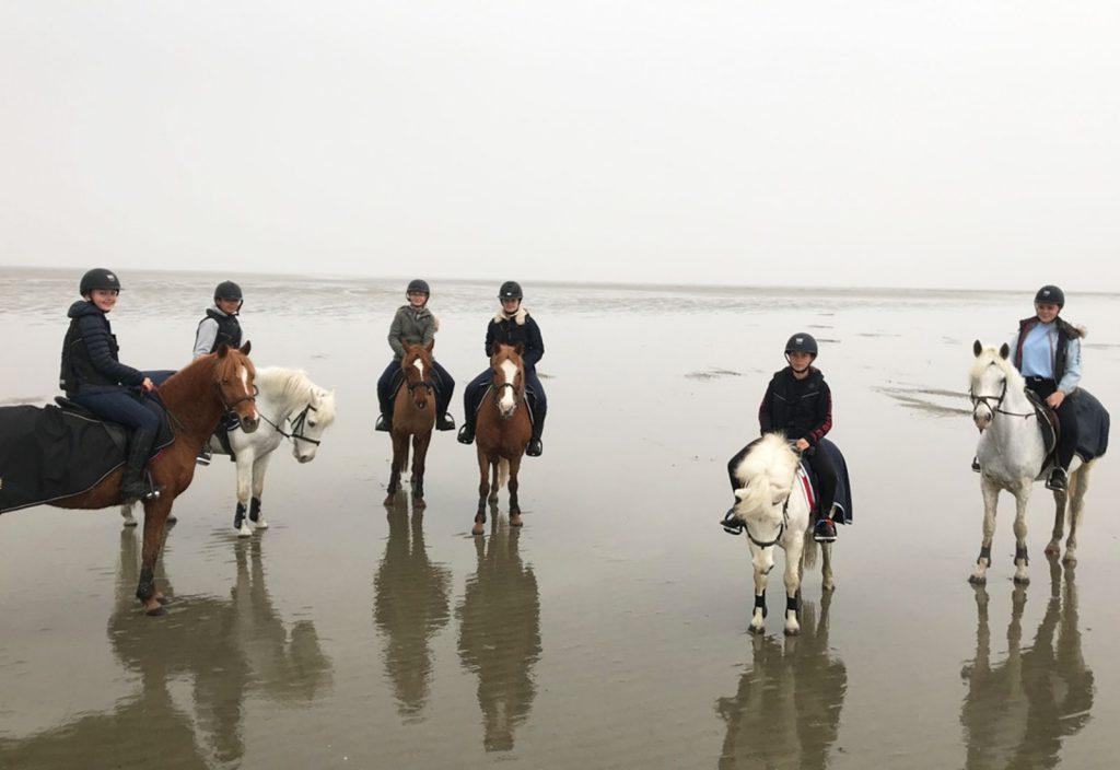 Sortie à la mer, Poney Club de Lamorlaye